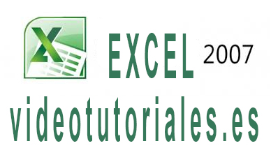 Curso gratuito de EXCEL 2007 en video tutoriales online